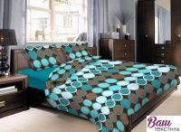 Комплект постельного белья Zastelli 10953-4735 Круги хлопок