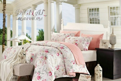 Bed linen set Zastelli 112669 Sateen фото 2