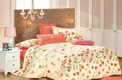 Bed linen set Zastelli 6384 Sateen фото 3