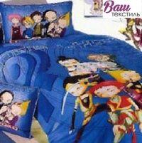 Комплект детского постельного белья Word of Dream KT 017 Аниме Сатин