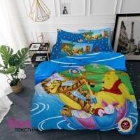 Детское постельное белья Word of Dream KT 033 Винни Пух Сатин фото
