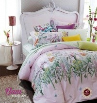 Bed linen set Word of Dream HB 124 Sateen  фото