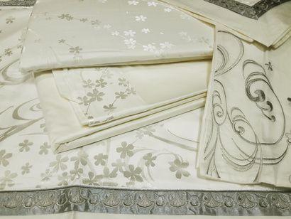 Комплект постельного белья Word of Dream 16FSM009 Безупречность Жаккард с вышивкой фото 4