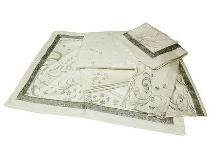 Комплект постельного белья Word of Dream 16FSM009 Безупречность Жаккард с вышивкой фото 3