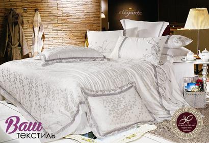 Комплект постельного белья Word of Dream 16FSM009 Безупречность Жаккард с вышивкой фото