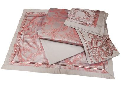 Bed linen set Word of Dream FSM342 Jacquard with embroidery  фото 5