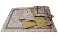 Комплект постельного белья Word of Dream FSM379 Фантазия Жаккард с вышивкой