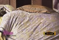 Дизайнерська постільна білизна Word of Dream FSM379 Жаккард з вишивкою фото