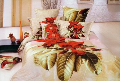 Комплект дизайнерского постельного белья Word of Dream Р412 Уместный Сатин фото 2