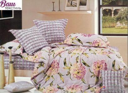 Комплект дизайнерского постельного белья Word of Dream H357 Противоположности Сатин фото