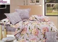 Комплект дизайнерского постельного белья Word of Dream H357 Противоположности Сатин