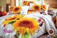 Дизайнерское постельное белье Word of Dream H839 Солнечные цветы Сатин фото