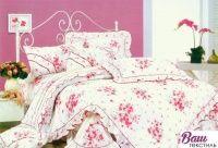 Комплект постельного белья Word of Dream HB1541 Сатин с оборкой