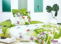 Комплект постельного белья Word of Dream H215 Ирисы Сатин