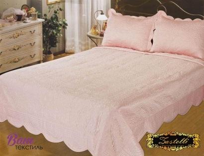 Bedspread silk Zastelli Venice Peach фото
